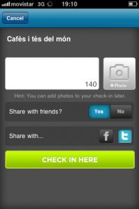 Què ofereix Foursquare a un petit negoci?