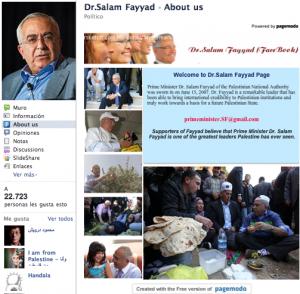 Salam Fayaad en Facebook
