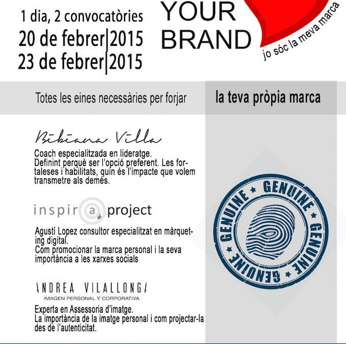 Love your brand – workshop sobre marca personal en Tarragona