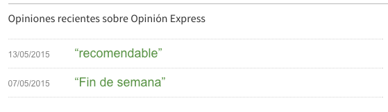 Gestión de las opiniones en Tripadvisor